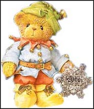 Ian - Like A Snowflake, You're One-Of-A-Kind, Cherished Teddies Figurine #104141