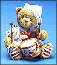 Gregory - From Sea To Shining Sea You Are The One For Me!, Cherished Teddies Figurine #105385