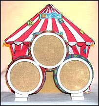 Circus Tent With Resin Rings, Cherished Teddies Display #107700