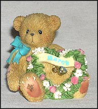 Sparkling Hearts - March, Cherished Teddies Figurine #111884