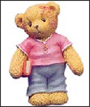Older Daughter - A Big Sister Is Always There To Help, Cherished Teddies Figurine #112457 MAIN