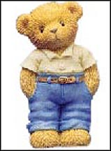 Older Son - A Big Brother To Look Up To, Cherished Teddies Figurine #112458 MAIN