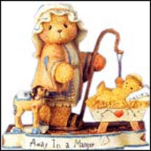 Elijah ... Away In A Manger, Cherished Teddies Figurine #112545