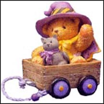 Gertie - It Only Took A Little Magic To Enchant My Heart, Cherished Teddies Figurine #112803 MAIN
