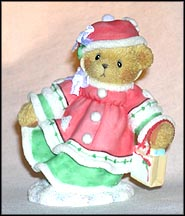 Rhonda - Bundle Up With Love For Christmas, Cherished Teddies Figurine #118320 MAIN