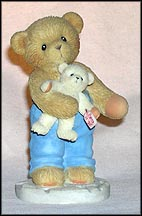Jonah I Can't Bear To Be Without You, Cherished Teddies Figurine #118374 MAIN