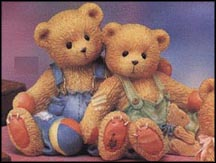 Tucker & Travis - We're In This Together, Cherished Teddies Figurine #127973