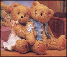 Seth & Sarabeth - We're Beary Good Pals, Cherished Teddies Figurine #128015