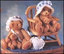 Priscilla & Greta - Our Hearts Belong To You - Lt. Ed., Cherished Teddies Figurine #128031
