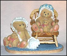 Priscilla & Greta - Our Hearts Belong To You - Intl. Lt. Ed., Cherished Teddies Figurine #128031F