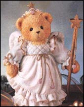 Kittie - You Make Wishes Come True, Cherished Teddies Figurine #131865