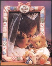 My Special Day - Christine, Cherished Teddies Photo Frame #136182 MAIN