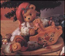Ginger - Painting Your Holidays With Love, Cherished Teddies Figurine #141127