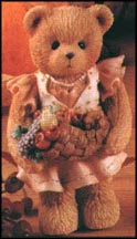 Barbara - Giving Thanks For Our Family, Cherished Teddies Figurine #141305 MAIN