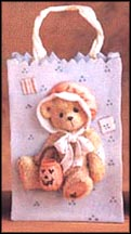 Halloween Resin Gift Bag - Connie, Cherished Teddies Resin Gift Bag #141879C