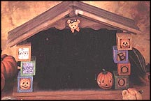 Beary Scary Halloween House, Cherished Teddies Display #152382