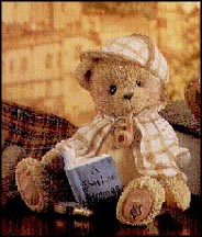 Sherlock - Good Friends Are Hard To Find, Cherished Teddies Figurine #163481