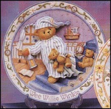 Wee Willie Winkle - Good Night, Sleep Tight, Cherished Teddies Plate #170941