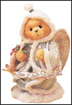 Angela - Peace On Earth And Mercy Mild, Cherished Teddies Figurine #175986