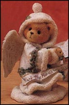 Stormi - Hark The Herald Angels Sing, Cherished Teddies Figurine #176001