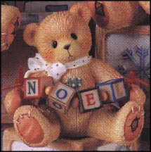 Noel - An Old-Fashioned Noel To You, Cherished Teddies Figurine #176109