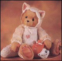 Tabitha - You're The Cat's Meow, Cherished Teddies Figurine #176257