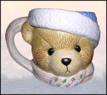 Boy With Hat And Scarf Mug, Cherished Teddies Mug #178292