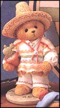 Carlos - Mexico  I Found An Amigo In You, Cherished Teddies Figurine #202339