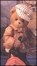 William - England  You're A Jolly Old Chap!, Cherished Teddies Figurine #202878