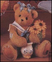 Susan - Love Stems From Our Friendship, Cherished Teddies Figurine #202894
