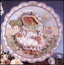 Mother - Our Love Is Ever-Blooming, Cherished Teddies Plate #203025 MAIN