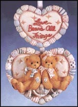 Love Bears All Things, Cherished Teddies Plaque #203211