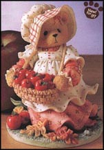 Hannah - Autumn Brings A Season Of Thanksgiving, Cherished Teddies Figurine #203343
