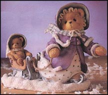 Gretchen - Winter Brings A Season Of Joy, Cherished Teddies Figurine #203351
