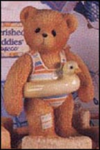Jerry - Ready To Make A Splash, Cherished Teddies Figurine #203475