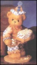 Shelby - Friendship Keeps You Popping, Cherished Teddies Figurine #203572