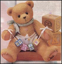 Baby With Diaper, Cherished Teddies Shelf Sitter #203874