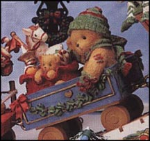 Cindy - This Train Is Bound For Holiday Surprises, Cherished Teddies Figurine #219177