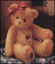 October - Mini, Cherished Teddies Figurine #239852 MAIN