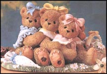 Danielle, Sabrina & Tiffany - We're Three Of A Kind, Cherished Teddies Figurine #265780