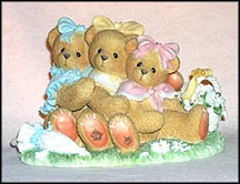 Danielle, Sabrina & Tiffany - We're Three Of A Kind, Cherished Teddies Figurine #265780F