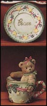 Jean - Cup Full Of Peace, Cherished Teddies Figurine #269859