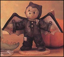 Barry - I'm Batty Over You, Cherished Teddies Figurine #270016