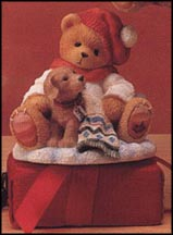 Lee - You're A Bear's Best Friend, Cherished Teddies Figurine #272167 MAIN