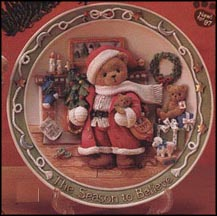 The Season To Believe, Cherished Teddies Plate #272183