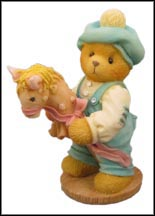 Benny - Level 1 Benny, Let's Ride Through Life Together, Cherished Teddies Figurine #273198