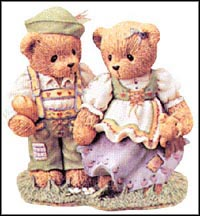 Harvey And Gigi - Finding The Path To Your Heart, Cherished Teddies Figurine #302481