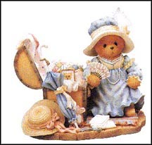 Kaitlyn  - Old Treasures, New Memories, Cherished Teddies Figurine #302600
