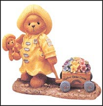 Joyce - Plant A Rainbow And Watch It Grow, Cherished Teddies Figurine #302767 MAIN