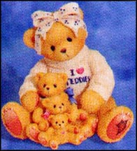 If A Mom's Love Comes In All Sizes, Yours Has The Biggest Of Hearts, Cherished Teddies Figurine #302988